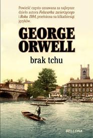 okładka Brak tchu, Książka | George Orwell