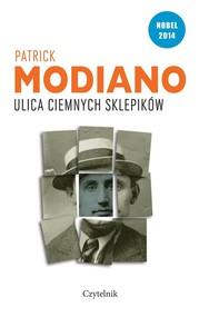 okładka Ulica Ciemnych Sklepików, Książka | Patrick Modiano