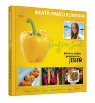 okładka Szczęśliwe garnki. Kulinarne przepisy na jesień, Książka | Beata Pawlikowska