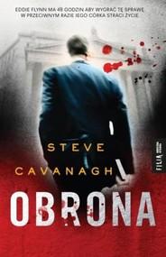okładka Obrona, Książka | Steve Cavanagh