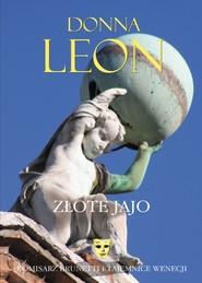 okładka Złote jajo, Książka   Donna Leon