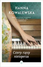 okładka Cztery rzęsy nietoperza, Książka | Hanna Kowalewska