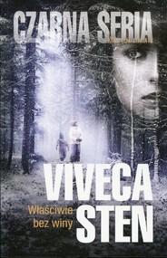 okładka Właściwie bez winy, Książka   Viveca Sten