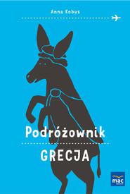 okładka Podróżownik Grecja, Książka | Anna Kobus