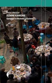 okładka Dziwne kamienie. Opowieści ze Wschodu i z Zachodu, Książka | Peter Hessler
