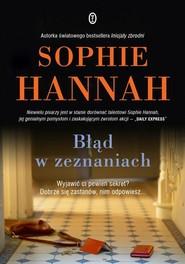 okładka Błąd w zeznaniach, Książka | Sophie Hannah