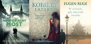 okładka Kobiety Łazarza + Niewidzialny most + W czasach, gdy ubywało światła. Pakiet, Książka   Julie Orringer, Marina Stepnova, Eugen Ruge