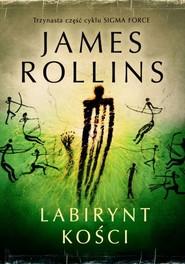 okładka Labirynt kości, Książka   James Rollins