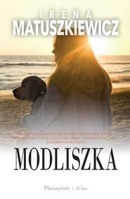 okładka Modliszka, Książka | Irena Matuszkiewicz