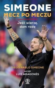 okładka Simeone. Mecz po meczu, Książka | Diego Simeone