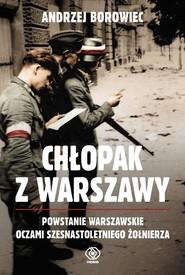 okładka Chłopak z Warszawy, Książka   Andrzej Borowiec