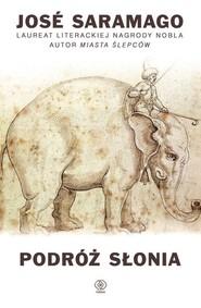 okładka Podróż słonia, Książka | José Saramago