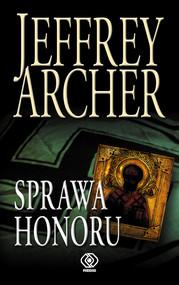okładka Sprawa honoru, Książka | Jeffrey Archer