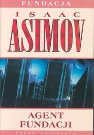 okładka Agent Fundacji, Książka   Isaac Asimov