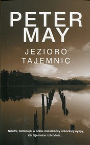 okładka Jezioro tajemnic, Książka | Peter May