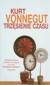 okładka Trzęsienie czasu, Książka   Kurt Vonnegut