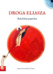 okładka Droga Eliasza. Rekolekcje papieskie, Książka   Secondin Bruno