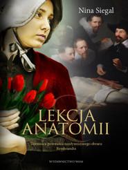 okładka Lekcja anatomii, Książka | Siegal Nina
