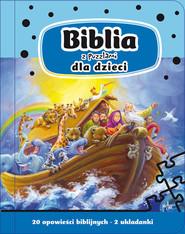 okładka Biblia z puzzlami dla dzieci, Książka | Juhl Anja