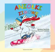okładka Aniołki zimowe, Książka | Derlicka Barbara