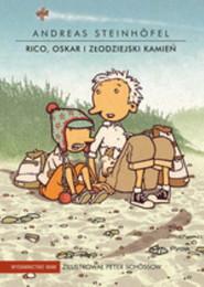 okładka Rico, Oskar i złodziejski kamień, Książka | Andreas  Steinhofel