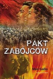 okładka Pakt zabójców, Książka | Max Gallo