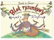 okładka Blok rysunkowy pająka Kleofasa, Książka | de Daniel Latour