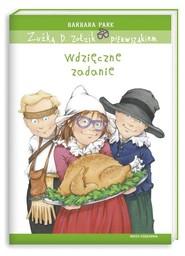 okładka Zuźka D. Zołzik pierwszakiem. Wdzięczne zadanie, Książka   Park Barbara