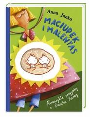 okładka Maciupek i Maleńtas. Niezwykłe przygody w Brzuchu Mamy, Książka | Anna Janko