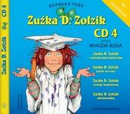 okładka Zuźka D. Zołzik. CD 4. Audiobook, Książka   Park Barbara