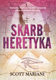 okładka Skarb heretyka, Książka | Scott Mariani