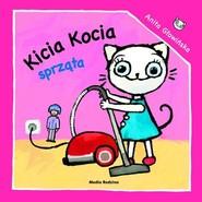 okładka Kicia Kocia sprząta, Książka   Anita Głowińska