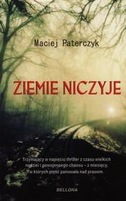 okładka Ziemie niczyje, Książka | Paterczyk Maciej