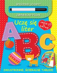 okładka Jakie to łatwe. Uczę się liter ABC, Książka | Praca Zbiorowa