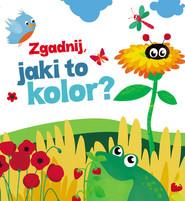 okładka Zgadnij jaki to kolor, Książka | Urszula Kozłowska