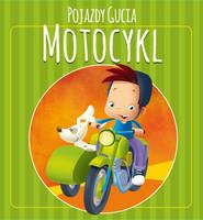 okładka Pojazdy Gucia. Motocykl, Książka | Urszula Kozłowska