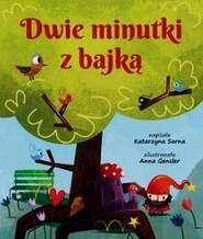 okładka Dwie minutki z bajką, Książka | Sarna Katarzyna
