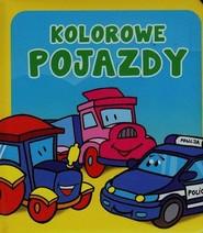 okładka Kolorowe pojazdy. Pianki, Książka | Urszula Kozłowska