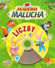 okładka Akademia malucha. Liczby z płytą CD, Książka | Urszula Kozłowska
