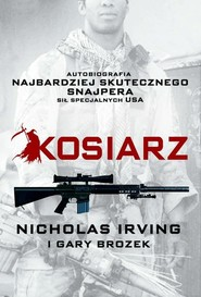 okładka Kosiarz, Książka | Nicholas Irving, Gary Brozek