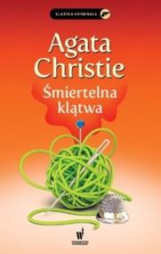 okładka Śmiertelna klątwa, Książka   Agata Christie