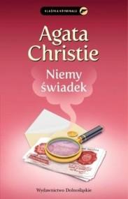 okładka Niemy świadek, Książka | Agata Christie