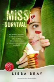okładka MISSja survival, Książka   Libba  Bray