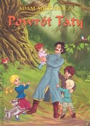okładka Powrót taty, Książka | Adam Mickiewicz