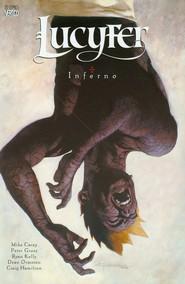 okładka Lucyfer Inferno Tom 5 Komiks tylko dla dorosłych, Książka | Mike Carey