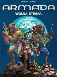 okładka Armada Wolna strefa Tom 12 Komiks, Książka | Jean-David Morvan