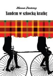 okładka Tandem w szkocką kratkę, Książka   Pasterny Hanna