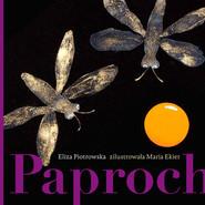 okładka Paproch, Książka   Eliza Piotrowska