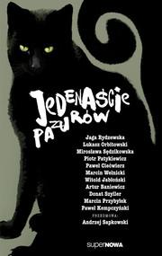 okładka Jedenaście pazurów Antologia, Książka | Andrzej Sapkowski, Artur Baniewicz, Łukasz Orbitowski