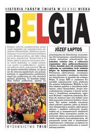 okładka Belgia, Książka | Łaptos Józef